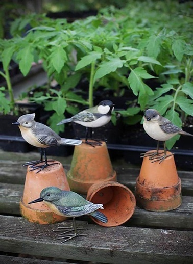 Kuş Figürlü Biblo-Warm Design